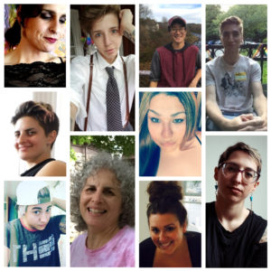 Collage of 10 adults